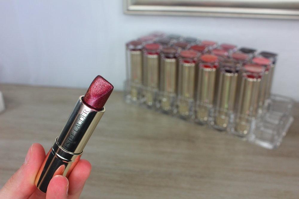 Estée Lauder Pure Color Love Lipstick Collection - Review & Swatches: