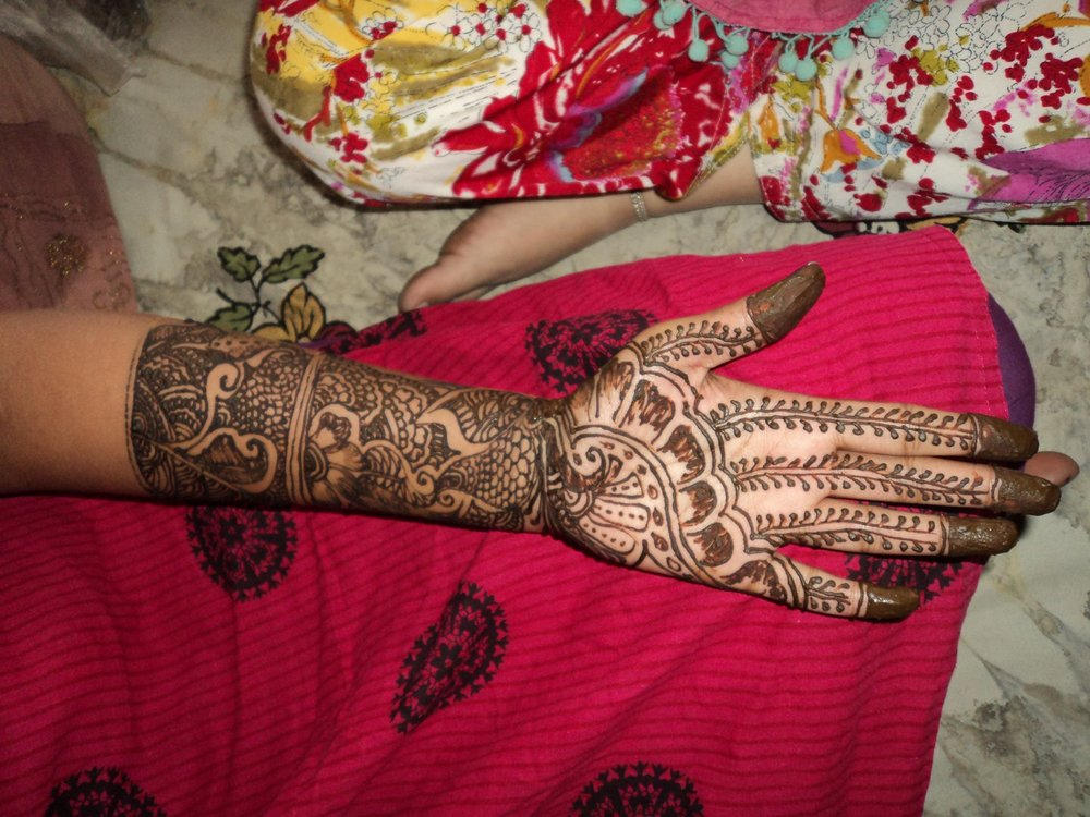 Beautiful henna tattoo!