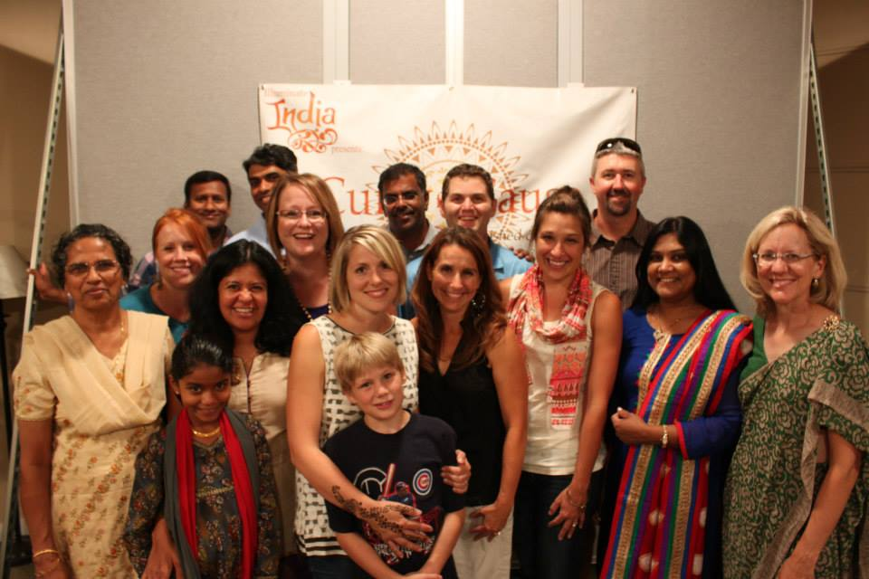 The team of volunteers at a Curry for a Cause in Idaho.