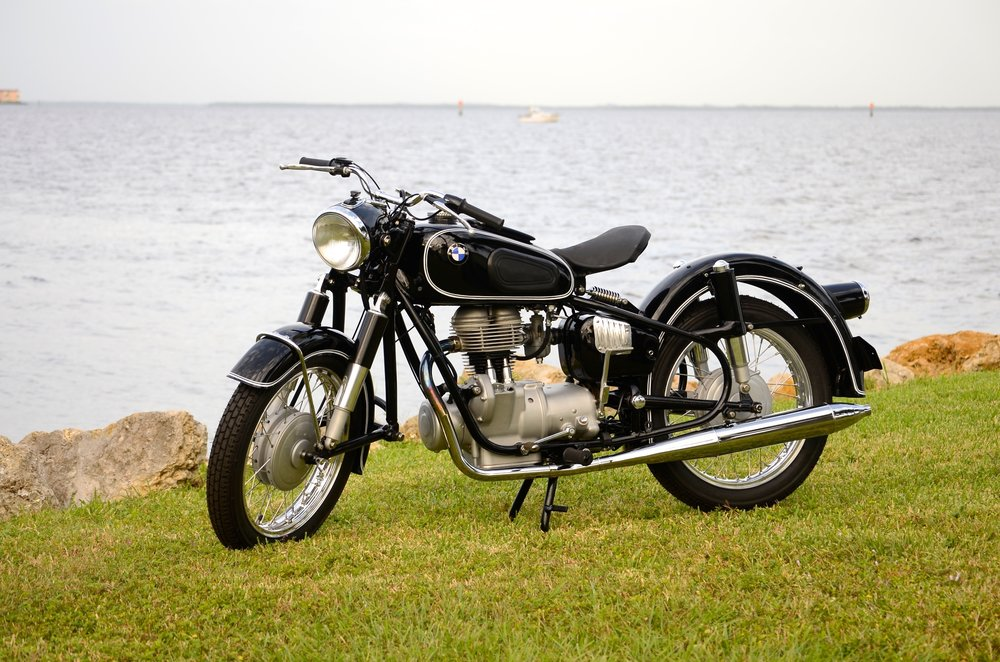 1960 BMW R-26 - after restoration