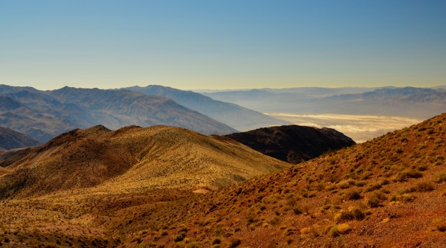 Death Valley...a view of Badwater Basin from Dante's Peak.