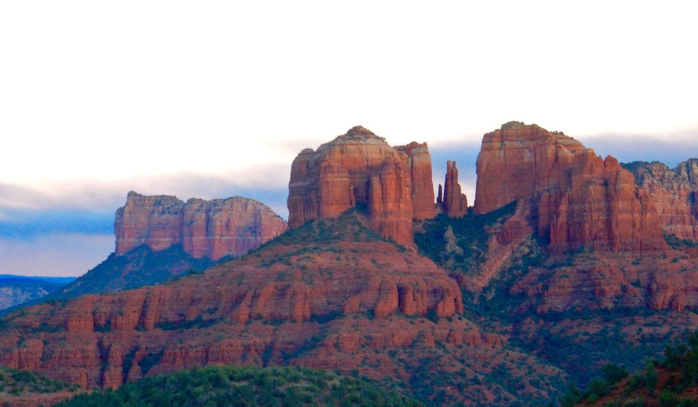 The red rocks of Sedona. They look even better in person.