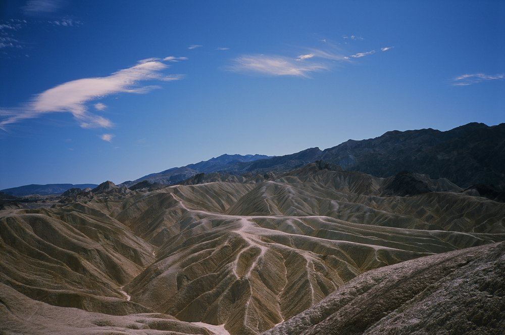 Death Valley....another early morning shot from Dante's Peak. Yashica T4.