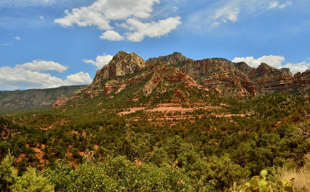 Sedona - the view from Schnebly Road.
