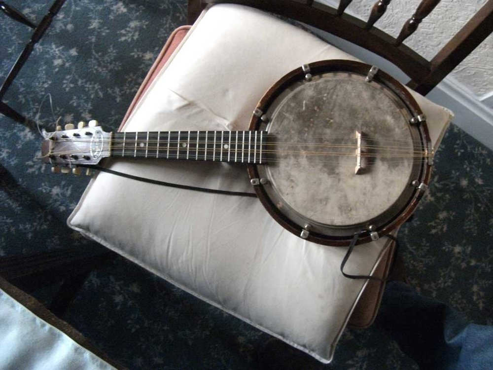 The mandolin-banjo