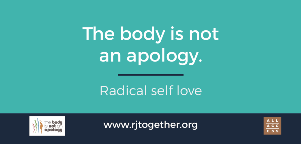Learn more about The Body is Not an Apology