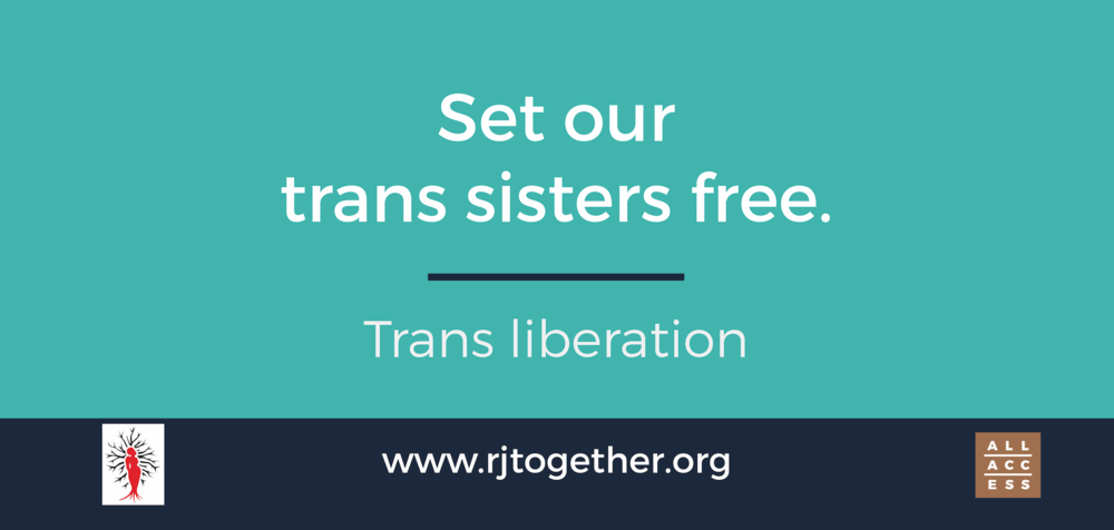 Learn more about the  Transgender, Gender Variant, Intersex Justice Project
