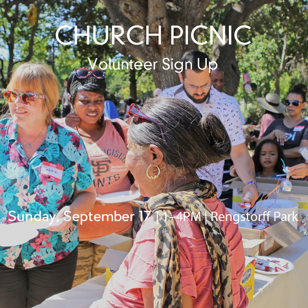 ALCF CHURCH PICNIC Save the date for our annual church picnic! Join us in planning and serving as we look forward to a time of fun, food and fellowship with our entire community. Sign up today!