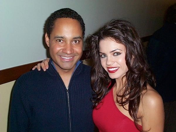 Jeffrey Reddick with actress Jenna Dewan-Tatum, the star of  Tamara .