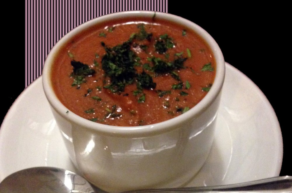 Recipe i love roasted tomato basil soup from the barefoot contessa the barefoot contessa published the barefoot contessa cookbook and a great soup recipe today its one of food networks most popular recipes online forumfinder Images