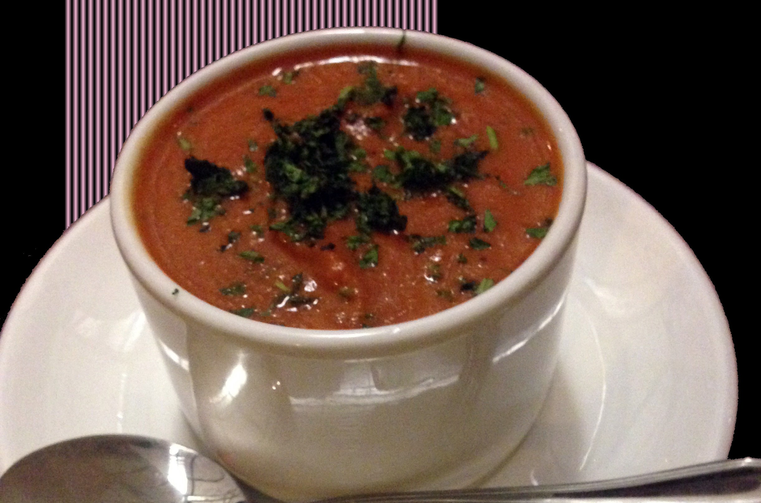 recipe i love: roasted tomato basil soup from the barefoot