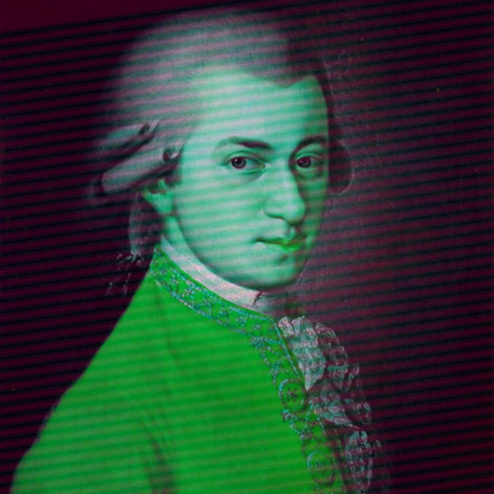 Mozart probably only cared about music because he was good at it. He was the original playa. Get it? As in piano player? Yes. ;)