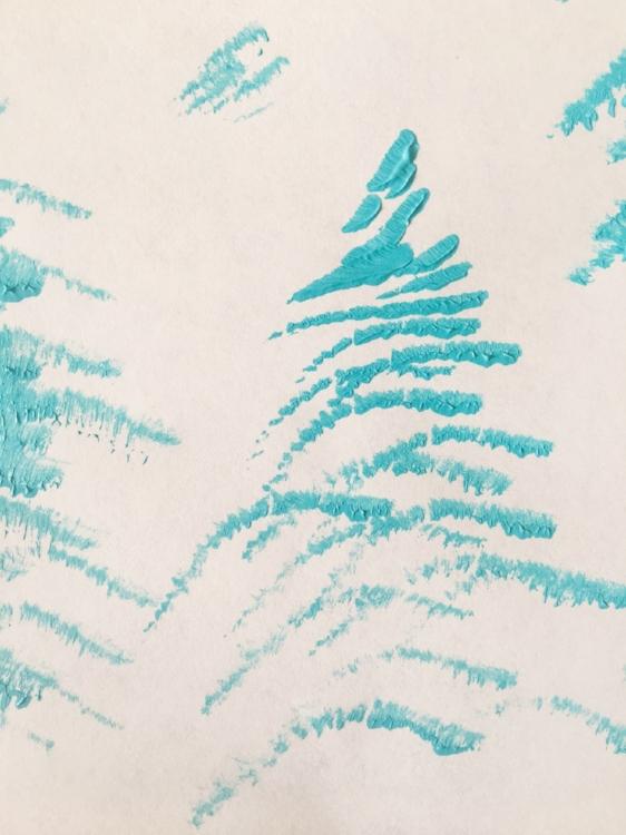 Happy trees by Rachel Loewes
