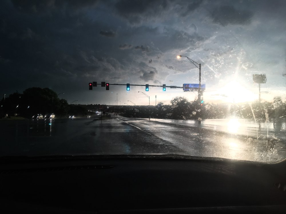 Sunshine and rain || weather in Omaha || Rachel Loewens