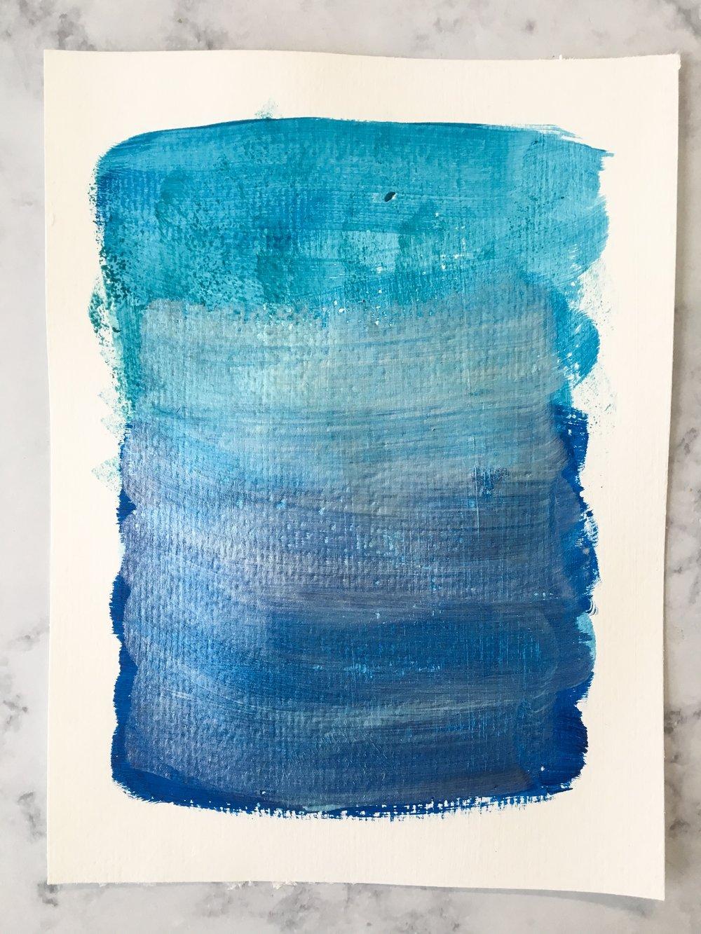 Chilly Sunday || #PCJ30in30 || Rachel Loewens Fine Art