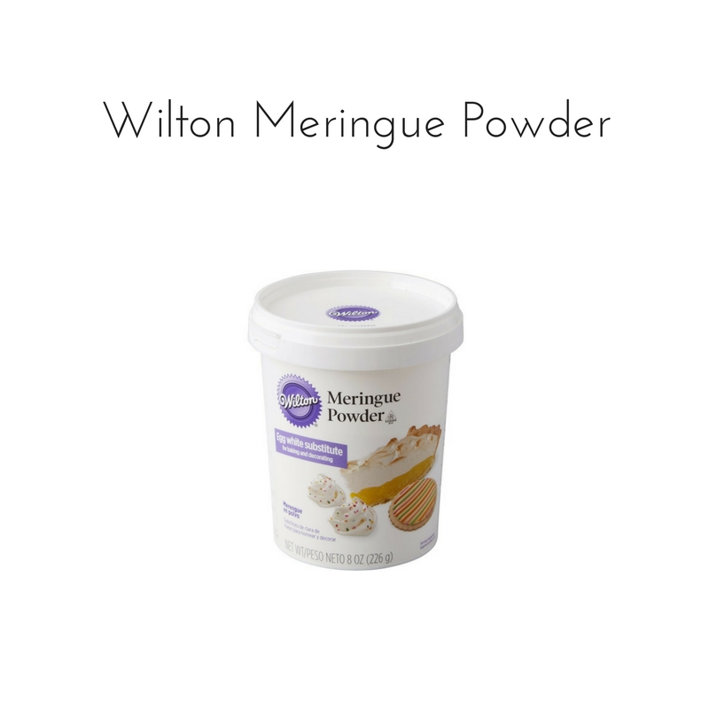 Wilton Meringue Powder || Rachel Loewens