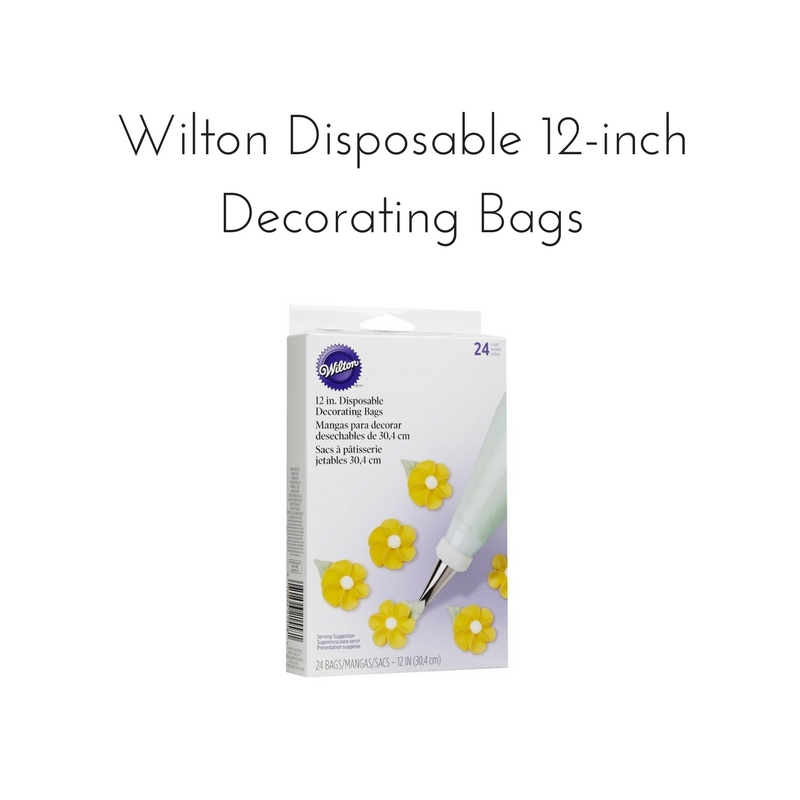 "Wilton Disposable 12"" Decorating Bags 