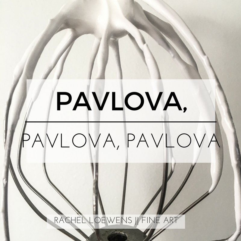 Pavlova, pavlova, pavlova || Rachel Loewens Fine Art