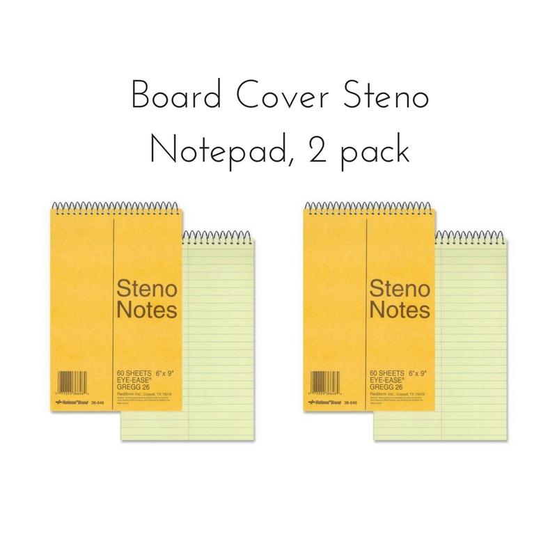Board Cover Steno Pads || Rachel Loewens Fine Art