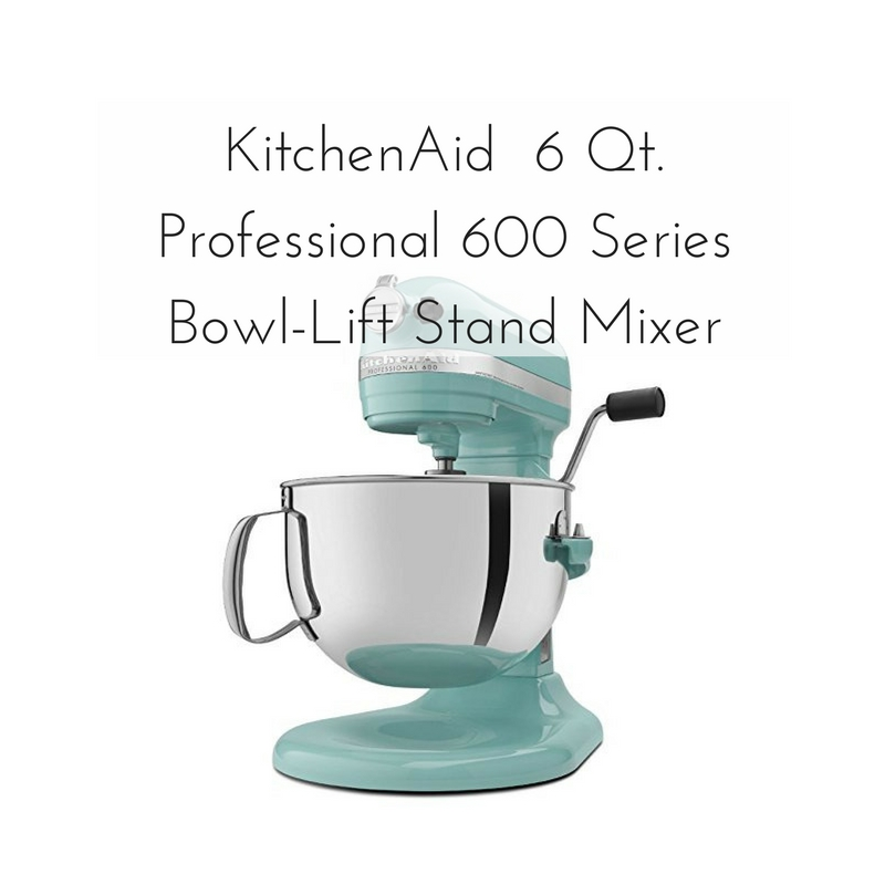 Kitchen Aid 6 Quart Professional 600 Series Bowl Lift Stand Mixer