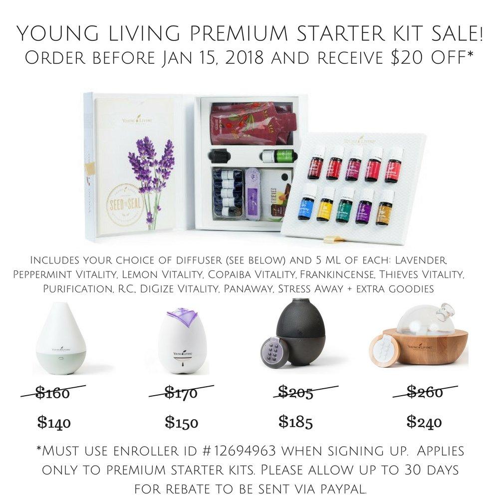 Young Living Premium Starter Kit || Rachel Loewens