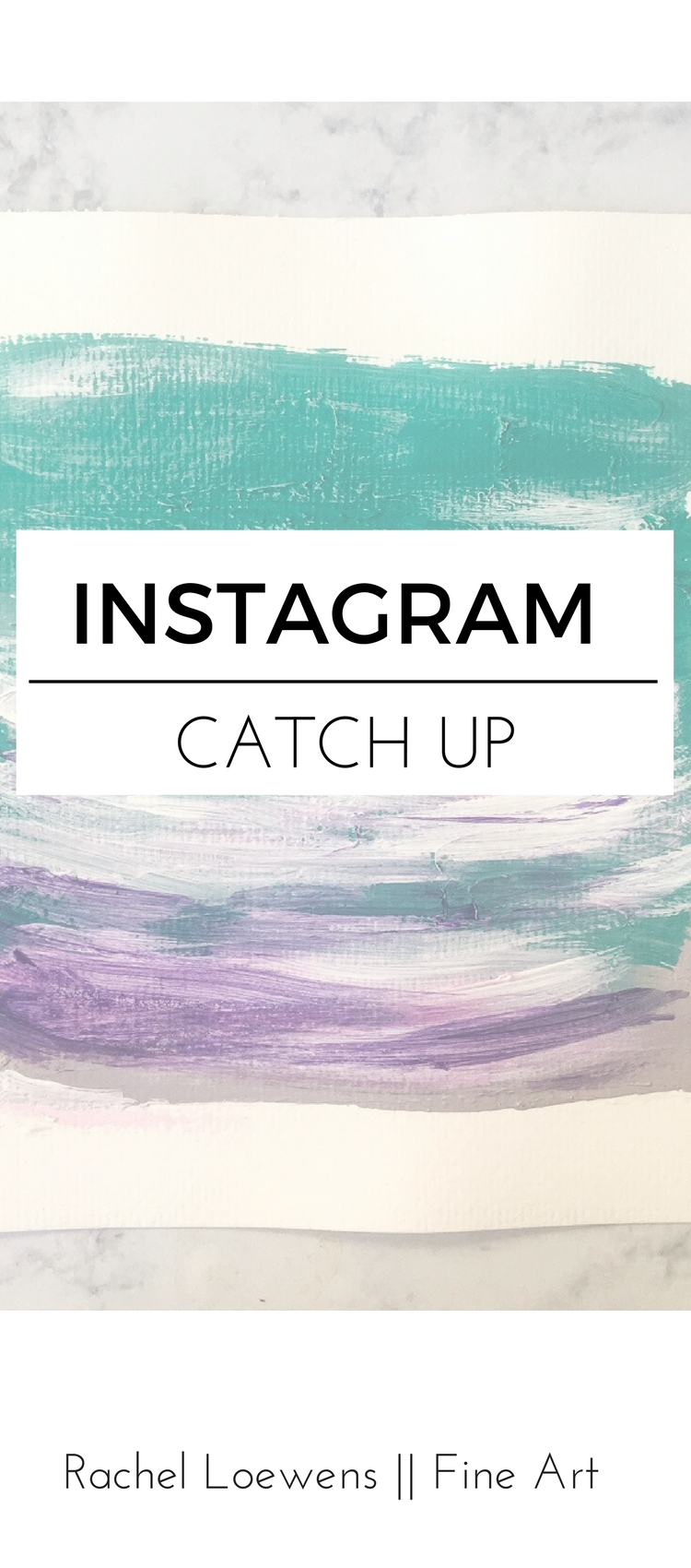 Instagram catch up