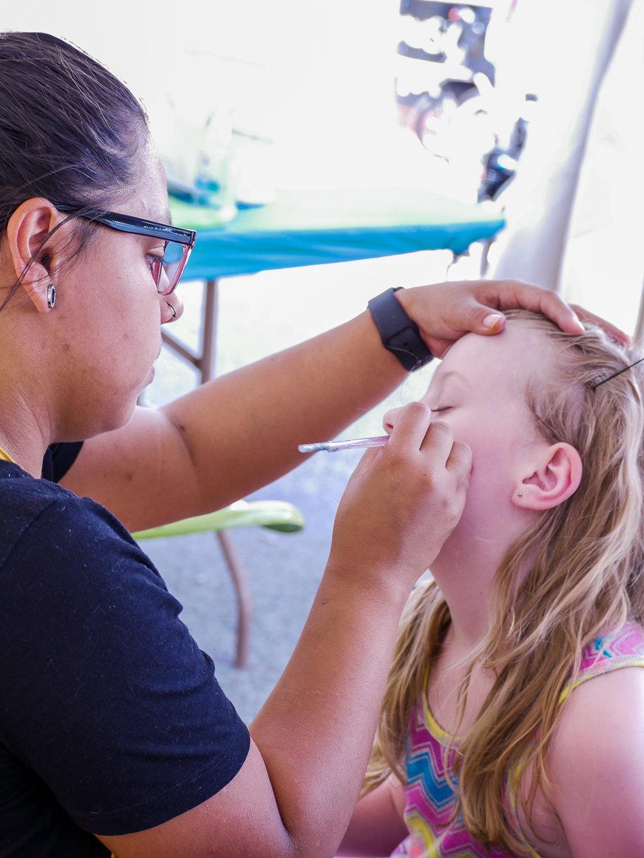 Summer Arts Festival || Face Painting || Rachel Loewens Studios