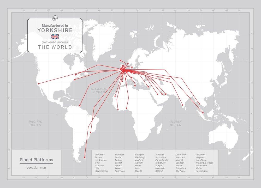 Planet Platforms Deliver Worldwide.