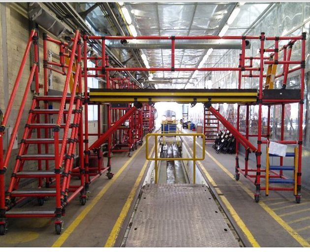 Fibreglass Access Gantries