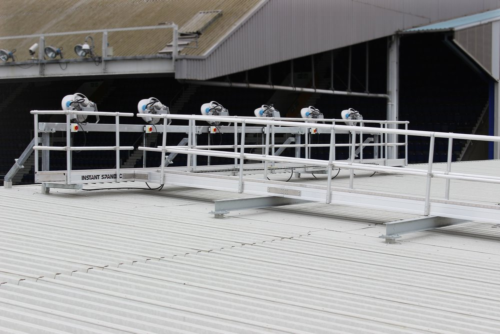 Stadium Roof Gantry.