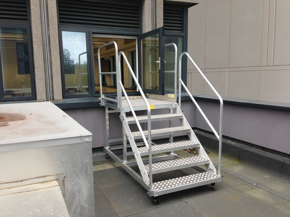 73. Aluminium Roof Access Steps