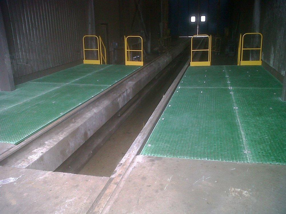 42. Fibreglass Infill Platforms (GRP)