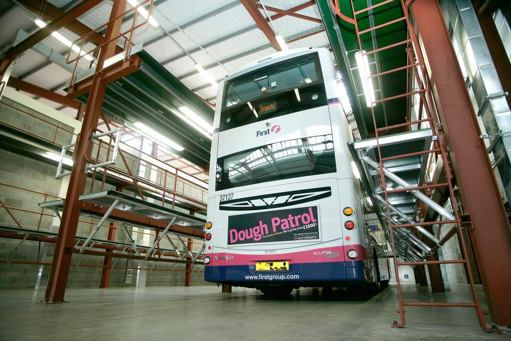 7. Bus Maintenance Bays