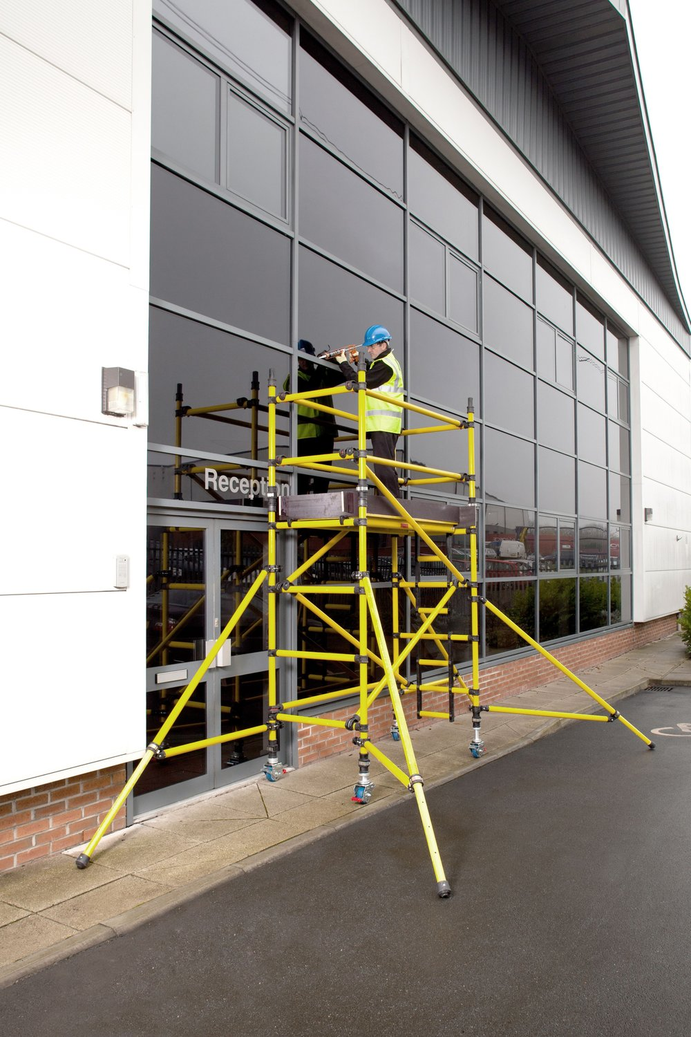 8. Prosafe Fibreglass Access Tower (GRP)