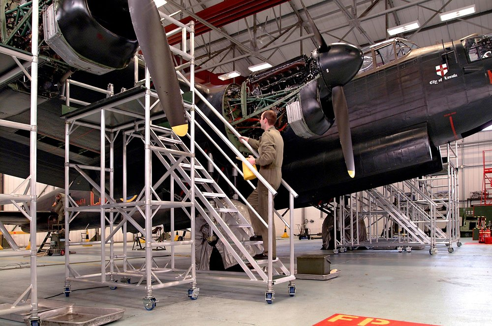 5. Aircraft Engine Maintenance Platform