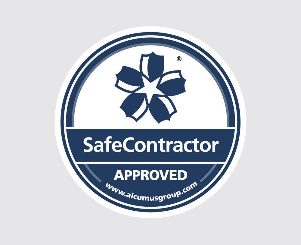 Alcumus SafeContractor Seal.