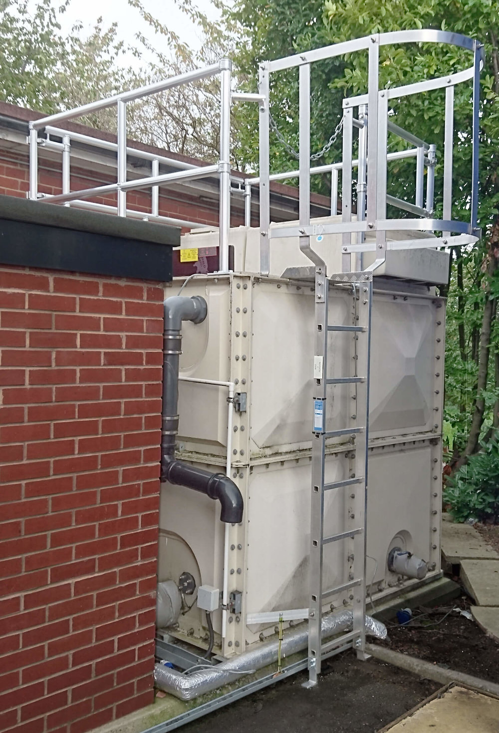 Water Tank Access Steps