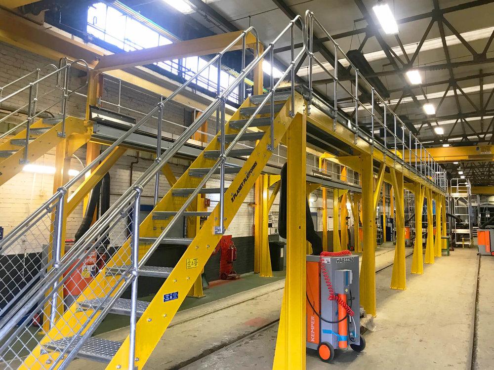 Planet Platforms Steel Gantry