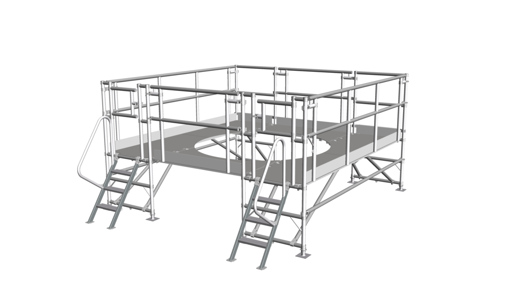 17. Low-level access platform