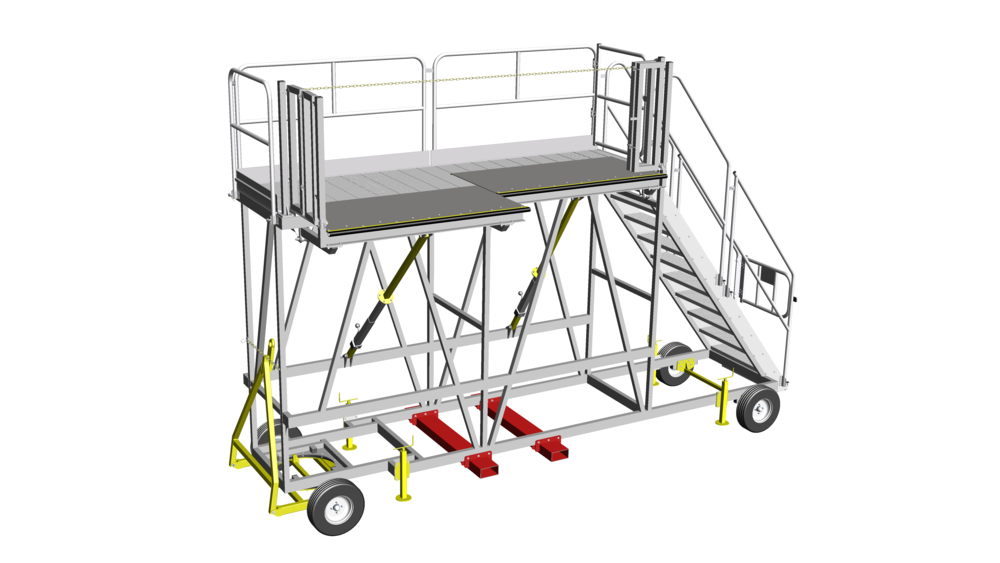 10. Towable carriage access system