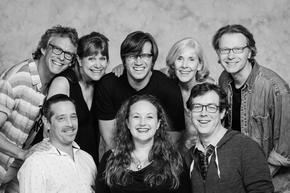 The Ensemble photographed summer 2016 by Gordon Wenzel, Impressions Studio. Top Row L to R: Daniel Roth, Laurie McCants, Eric Wunsch, Elizabeth Dowd, James Goode. Bottom row L to R: Andrew Hubatsek, Cassandra Pisieczko, Richard Cannaday
