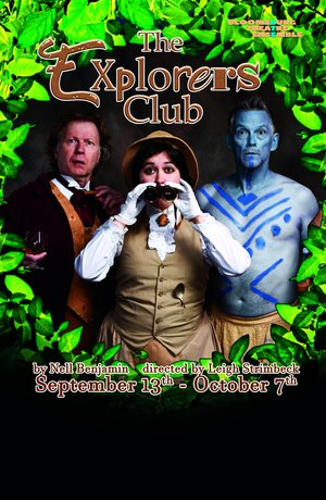 """Cover of the play """"The Exploreres Club""""."""