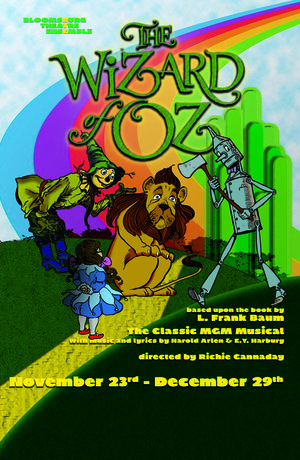 """Cover of the play """"The Wizard of Oz""""."""
