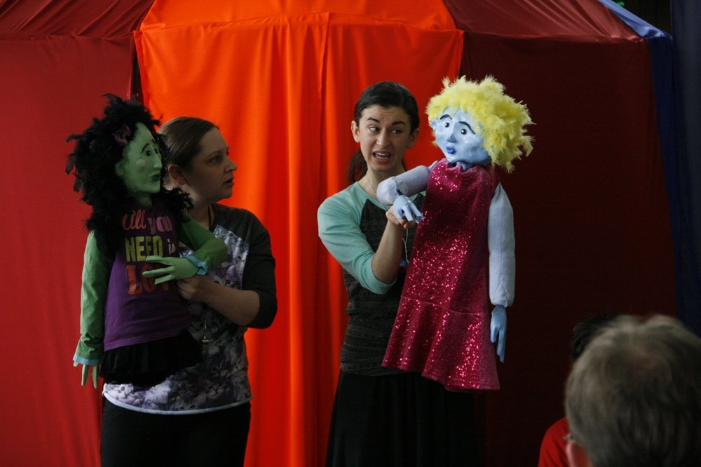 Scene from Project Discovery play.