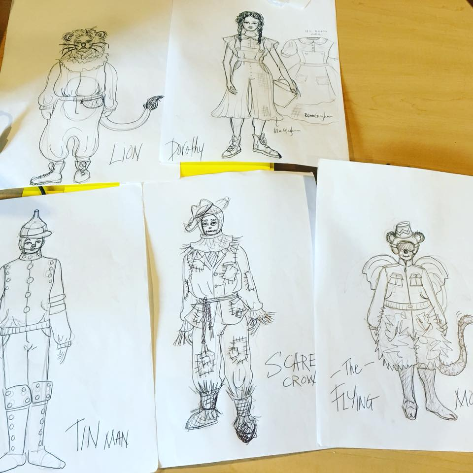 Costume sketches by Elizabeth Wislar for THE WIZARD OF OZ.jpg
