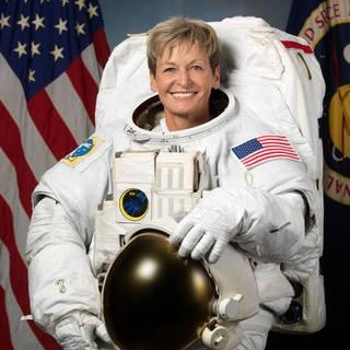 a retired U.S. astronaut and doctor of biochemistry, Whitson holds the American record for most days in space! (665 days in space, the theoretical equivalent of a round trip to mars). She was also the first female commander of the International Space Station.More Info - Peggy Whitson