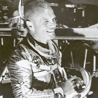John Glenn - A test pilot for the U.S. military and a U.S. astronaut, Glenn is famous for being the first American man to orbit earth. After NASA, he became a senator and served as a politician for 25 years.More Info