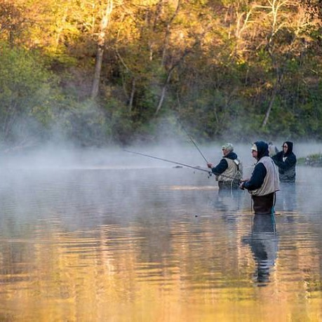 We are gearing up to learn fly fishing from volunteers from Trout Unlimited and the Missouri Department of Natural Resources later this month. To say we're excited is an understatement. #ReWildKC #ExploreYourRoots 📸: Missouri State Parks