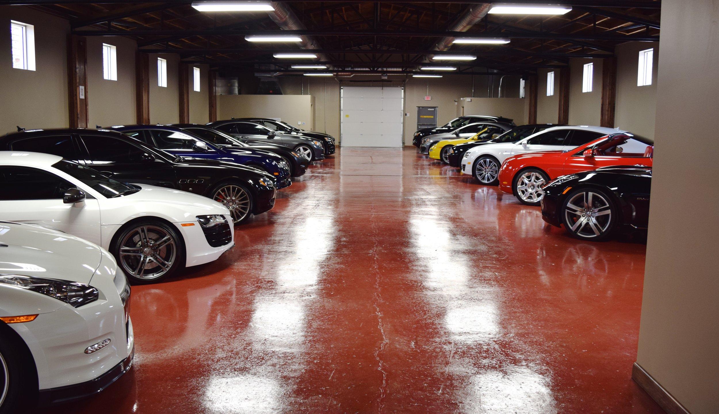 Metrolina Auto Storage Exotic Luxury Car Storage - Luxury car show