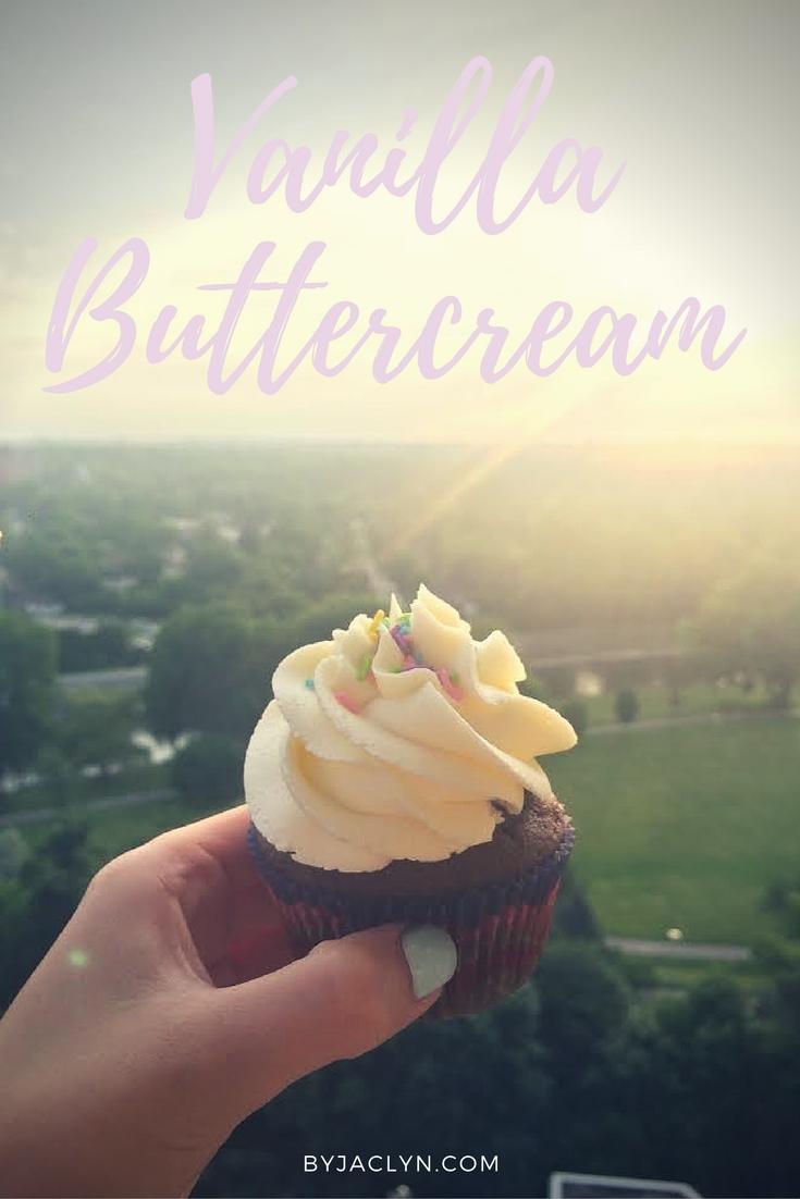 Simple and Classic Vanilla Buttercream